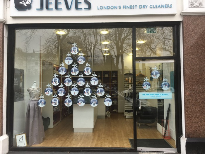 Jeeves Christmas Baubles