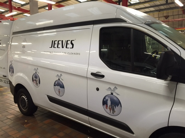 Jeeves Christmas Van Decs